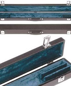 Bobelock Triple Violin-Viola-Cello Bow Case with Blue Velour Interior